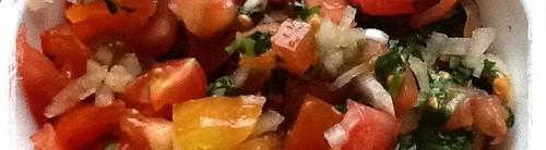 Homemade salsa手工沙沙醬