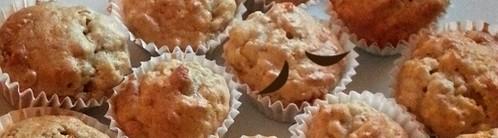 手工香蕉馬芬食譜 Homemade banana oats muffins