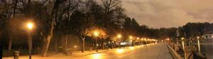 馬德里公園Parque del Retiro夜景
