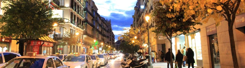西班牙街景,旅遊