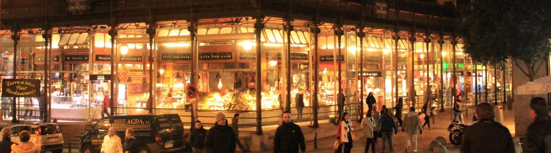 Mercado del San Miguel美食市場夜景