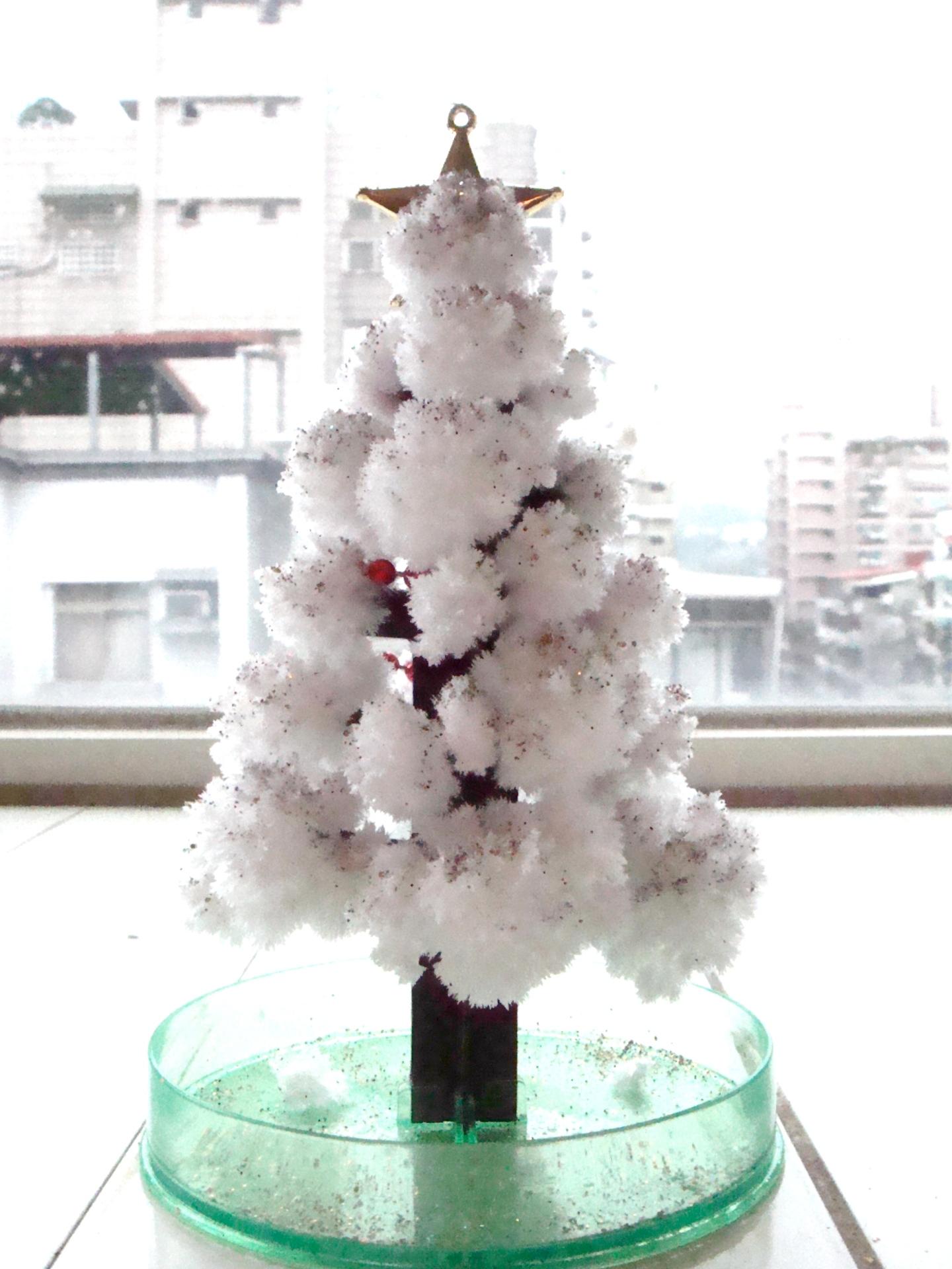 聖誕禮物白色聖誕樹