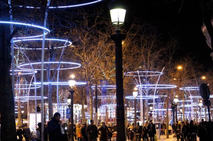 巴黎聖誕氣氛