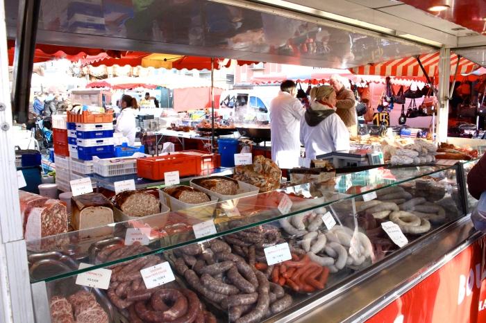 Trouville市場