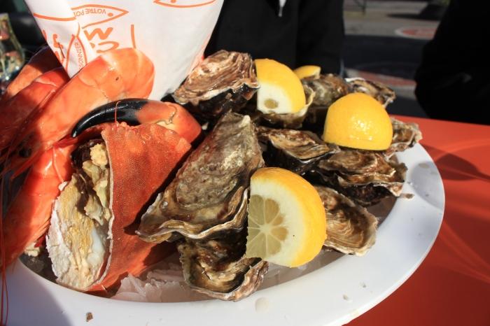 Trouville吃海鮮