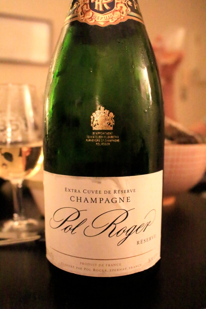 Pol Roger香檳貼紙