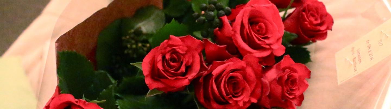 生日收到的花束