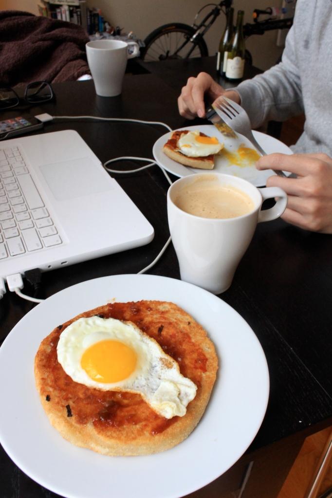 蘿蔔絲蛋餅早餐
