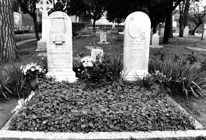 濟慈墓園 John Keats