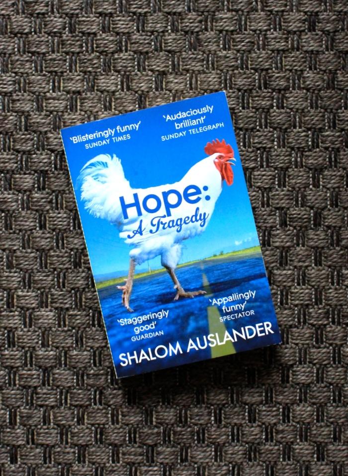 Taipei Book Club, Hope: a Tragedy, by Shalom Auslander