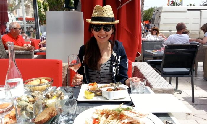 南法旅行 地中海 海鮮大餐