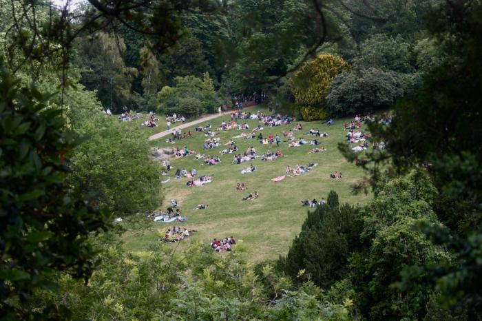 巴黎公園 Buttes Chaumont