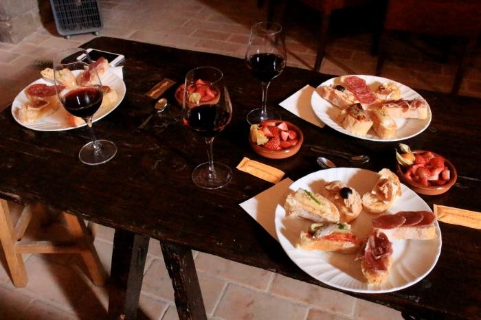 巴塞隆納 tour 葡萄酒